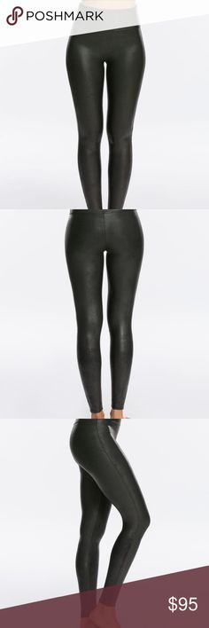 5731b5c0e9d56 NWT, Spanx Faux Leather Leggings, BLACK, 2X These are brand new with tags