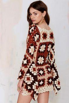 precioso mini vestido - LA CASITA DE MABELY - Gabitos