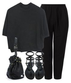 """""""Untitled #3008"""" by peachv ❤ liked on Polyvore featuring Astraet and Valentino"""