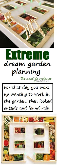 for the obsessed gardener, or at least the creative one