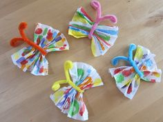 Motýlci Caterpillar Craft, Very Hungry Caterpillar, Summer Camp Activities, Activities For Kids, Diy And Crafts, Crafts For Kids, Arts And Crafts, Toddler Crafts, Preschool Crafts