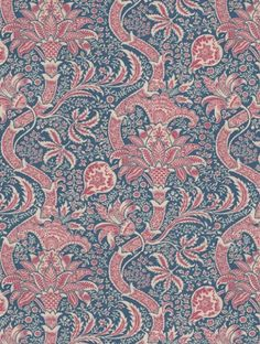 Indian  is taken from Morris and Co's Morris V wallpaper collection.