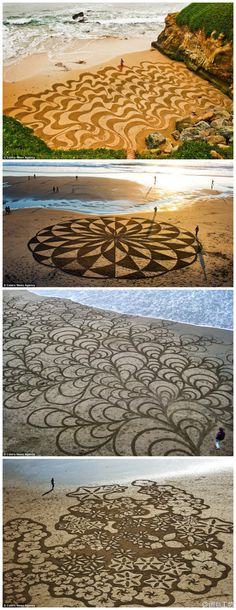 """Playa Drawings"" by Andres Amador"