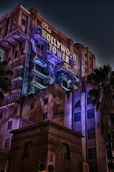 Tower of Terror Hollywood Studios Disney World Disneyland California, Disney California Adventure, Disneyland Resort, Attractions Disneyland, Disney Rides, Disney Parks, Disney Nerd, Disney Bound, Disney Stuff