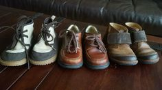 Boys Leather Dress Shoes Boots Casual Velcro Stride Rite Clarks Old Navy Size 8  #StrideRiteClarksOldNavy #CasualShoesboots