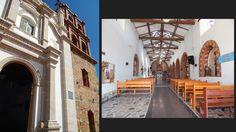 Iglesia de Guavatá. Fachada e interior.