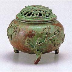 Japanese Bronze Incense Burner Koro by Suga Geppo, ¥45,360