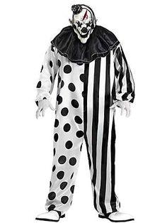 dc4e2c1f918 MENS KILLER CLOWN Clown Party Costume