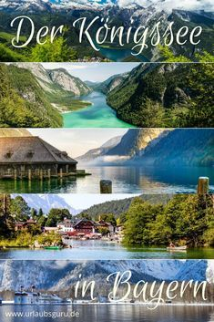 Königssee in Bavaria - a real natural beauty - The Berchtesgadener Land may be familiar to some of you, right? But have you ever visited this magn - Vacation Ideas, Vacation Pictures, Vacation Spots, Journey Pictures, Photography Tours, Belleza Natural, Bavaria, Outdoor Travel, Kayaking