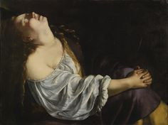 Mary Magdalene in Ecstasy by Artemisia Gentileschi, 1620