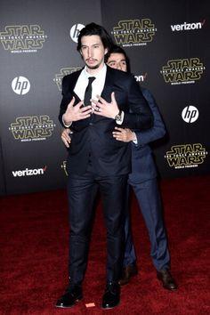 Star Wars: The Force Awakens | Adam Driver & Oscar Isaac
