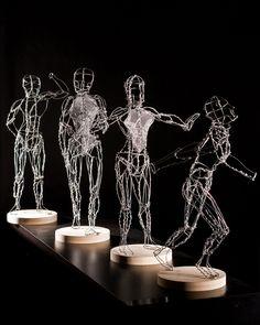 .02.3 Gesture figures - Federico Carbajal - artwork