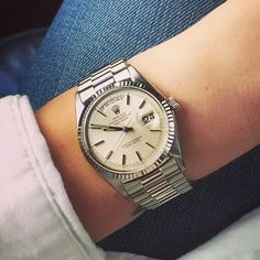 HODINKEE watch I wore most in 2015, Rolex Day-Date