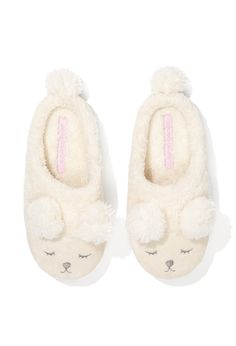 Image for Ladies Fluffy Bear Scuff from Peter Alexander