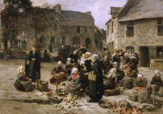 Léon-Augustin Lhermitte,Realismo francés. (Trianart)