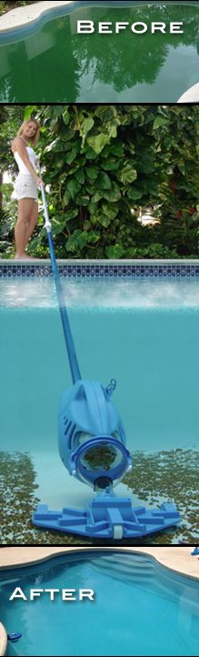 Why spend more time than necessary cleaning a pool instead of enjoying it?  Pick the