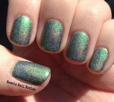 Multi chrome Holographic nail polish Girly Bits   Lack of Pies #nailpolish #indie