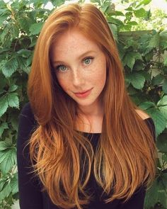 red hair CLICK picture and get human hair for chic ladies . on ali express and get more fashion cheap human hair Redhead Hairstyles, Fringe Hairstyles, Hairstyles For Round Faces, Asymmetrical Hairstyles, Updos Hairstyle, Feathered Hairstyles, Ladies Hairstyles, Funky Hairstyles, Formal Hairstyles