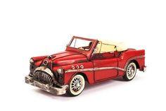 Miniatura Carro de Lata - Cadillac Conversível