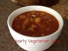 Hearty Vegetarian Soup