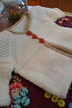 Free Pattern: Hello Baby Cardigan by Susan B. Anderson