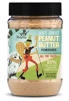 Just Great Peanut Butter Packaging by Next Door PD