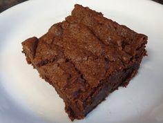 Brownies!  {Egg-free & Dairy-free}