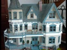 Very detailed, well built, HUGE dollhouse!