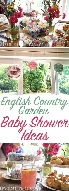 amazing ideas for an english country garden themed baby shower with liberty print accessories tea party
