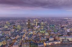 View from the Top of the Shard (not open until 2013), by Will Pearson, 2012. Fee - nearest Tube, London Bridge.