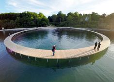 The Infinite Bridge | Gjøde & Povlsgaard Arkitekter Location: Aarhus, Denmark | 2015
