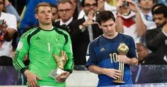 Argentina captain Lionel Messi was named the Golden Ball winner while Colombian sensation James Rodriguez won the Golden Boot award for the 2014 FIFA World Cup here Sunday. Argentina lost 0-1 in extra time to Germany in the final at the Marcana stadium here Sunday