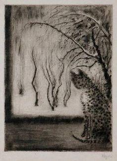 'Cat on window' - Bohuslav Reynek Classical Art, Cat Art, Arts And Crafts, Prints, Animals, Window, Paintings, Illustrations, Printmaking
