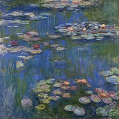 Le Bassin aux Nympheas (Water Lilies) by Claude Monet.