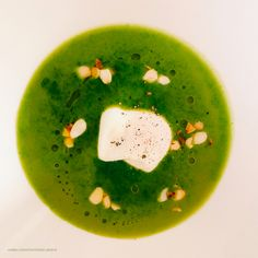 Supa-crema de frunze verzi