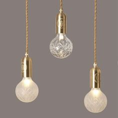 Lee Broom crystal bulb FROSTED