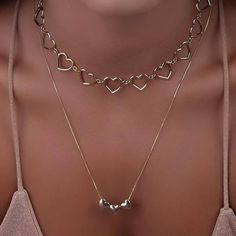 Heart Jewelry, Cute Jewelry, Jewelry Accessories, Ring Necklace, Earrings, Necklace Designs, Piercings, Jewelery, Chokers