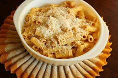The Wiegands: Pumpkin Pasta Sauce Recipe (sub cream)  (due to allergies...Oct '13 -- Did 1/2can pumpkin puree, about1cup+ Rice Milk and some Earth Balance Soy Free/Dairy Free Butter.  Heat up puree/rice milk couple minutes then add butter at end)