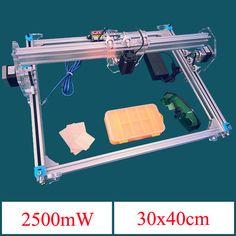2500mw máquina de grabado láser Pro Eleksmaker elekslaser-a3 CNC impresora laser