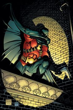 Robin - Search For A Hero, Part The Concrete Cauldron (Issue) by by Freddie Williams II Tim Drake Red Robin, Robin Dc, Batman Robin, Dc Comics, Robin Comics, Red Robin Bird, Bird Costume, Robin Costume, Timothy Drake