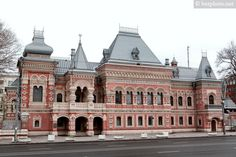 bezphoto: Architecture of old Moscow: Igumnov house on Yakim...