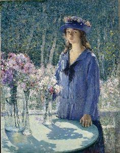Turner, Helen, (1858-1958), The Flower Girl