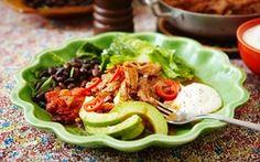 Very good food! Coleslaw, Pulled Pork, Crockpot, Good Food, Menu, Mexican, Ethnic Recipes, Drink, Usa