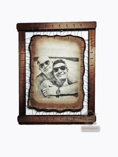 2nd Wedding Anniversary Gifts Ideas For Husband by Leatherport ...