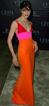 Isaac Mizrahi dress on Selma Blair