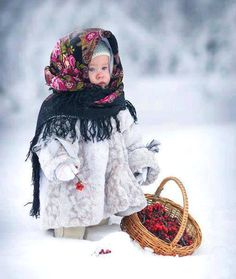 Another pinner said: Another beautiful Russian tot :-)  (Courtesy of Natasha from Russia on Facebook)