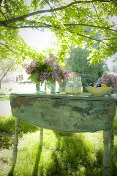 Shabby chic in nature