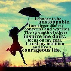 Live A Courageous Life #Quote #Inspiration #Motivation