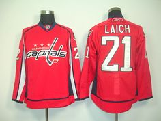8e130ffa3 ... Authentic Jersey Sale Washington Capitals 21 Brooks LAICH Home Jersey  ...