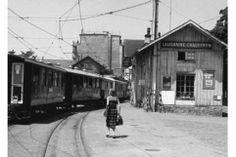 LEB Chaueron #Lausanne Lausanne, Old Pictures, Vintage Posters, Switzerland, Montreux, Street View, Photos, Landscapes, Photography